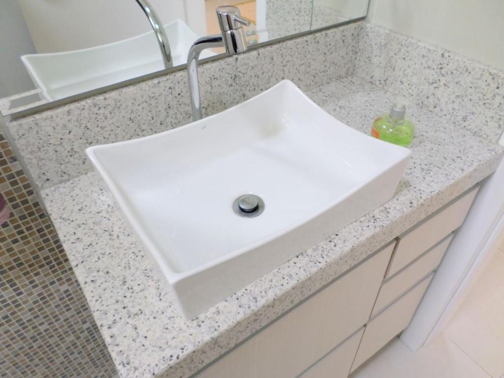 Galeria de Fotos  MARMORARIA CURITI -> Como Limpar Pia De Banheiro De Fibra